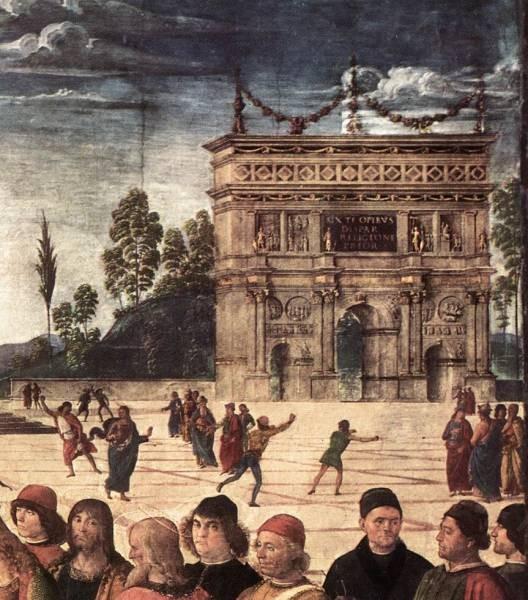 Baptism of Christ c1482 detail3